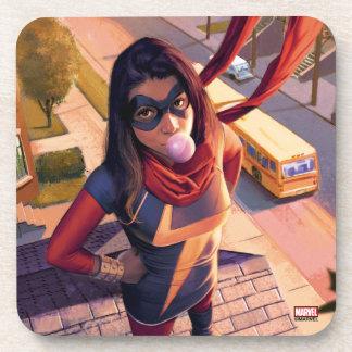 Ms. Marvel Comic #2 Variant Coaster