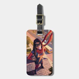 Ms. Marvel Comic #2 Variant Luggage Tag