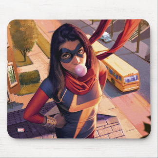 Ms. Marvel Comic #2 Variant Mouse Pad