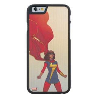 Ms. Marvel Comic #3 Carved Maple iPhone 6 Case
