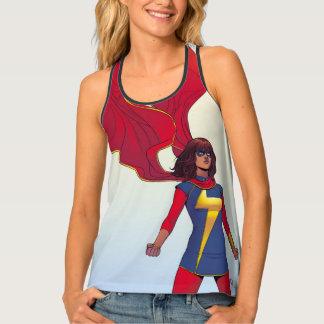 Ms. Marvel Comic #3 Tank Top