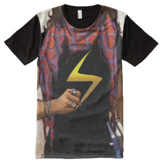 Ms. Marvel Comic Cover #1 All-Over-Print T-Shirt