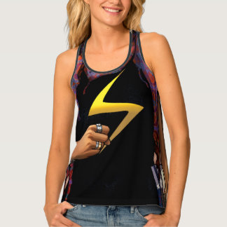 Ms. Marvel Comic Cover #1 Tank Top