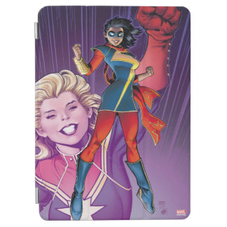 Ms. Marvel Comic Cover #1 Variant iPad Air Cover