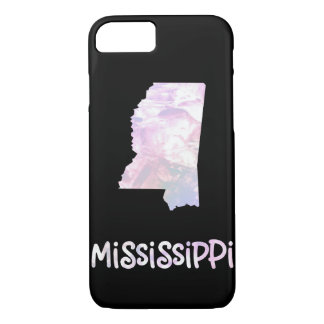 MS Mississippi State Iridescent Opalescent Pearly iPhone 8/7 Case