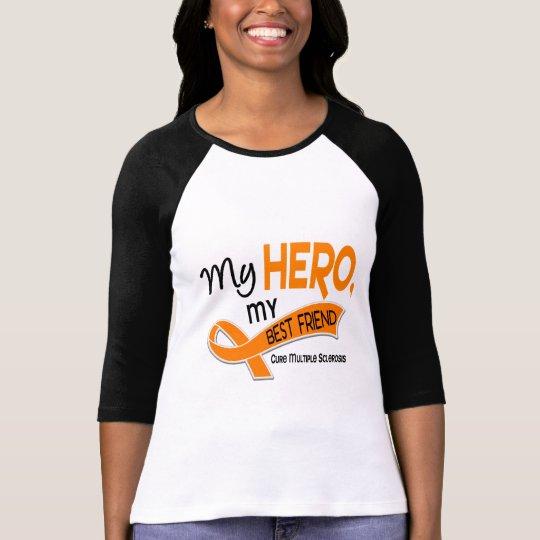 MS Multiple Sclerosis MY HERO MY BEST FRIEND 42 T-Shirt