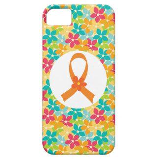 MS Multiple Sclerosis Orange Ribbon awareness iPhone 5 Cases