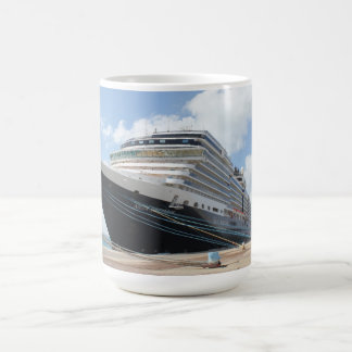 MS Nieuw Amsterdam Cruise Ship on Aruba Coffee Mug