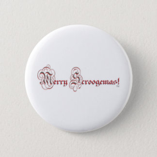 MS - Parchment Red Silver Letters 2 Inch Round Button