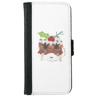 Ms Pudding I-Phone 6/6s Wallet Case