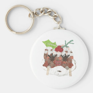 Ms Pudding Keyring