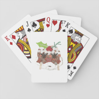 Ms pudding Playing Cards