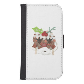 Ms Pudding Samsung Galaxy S4 Wallet Case