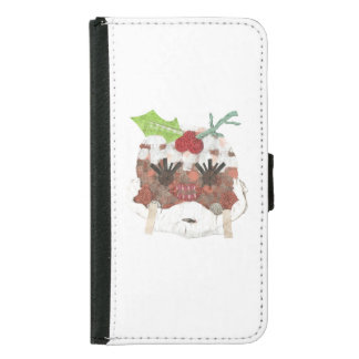 Ms Pudding Samsung Galaxy S5 Wallet Case