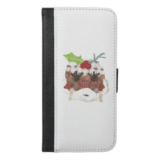 Ms Pudding Samsung Galaxy S6 Plus Wallet Case
