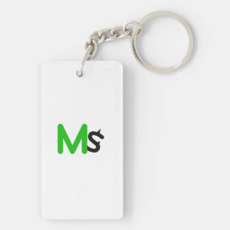 MS Rectangle Keychain