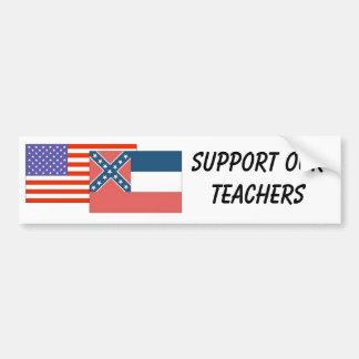 MS--Support Our Teachers Bumper Sticker