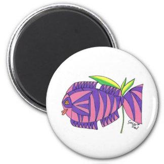 Ms Tiger Fish Magnet