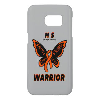 MS WARRIOR/ torn ribbon Samsung Galaxy S7 Case
