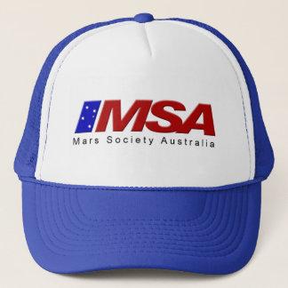 MSA Blue Cap