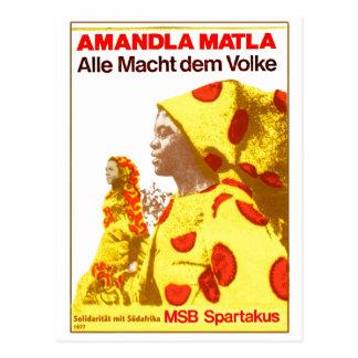 MSB South Africa 1977 Postcard