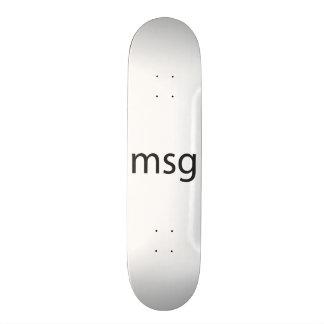 msg custom skate board