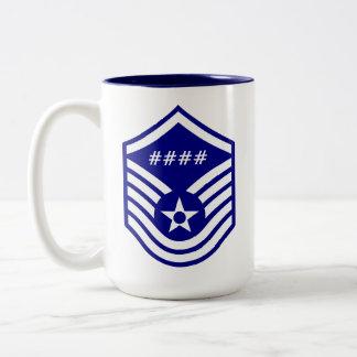 MSgt Line Number Mug