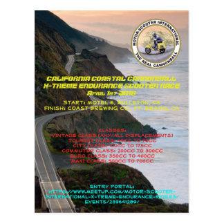 MSILSF California coastal Cannonball Postcard