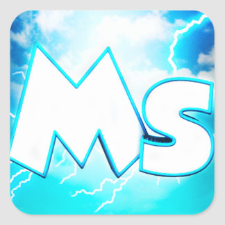 Mslightningbre Square Sticker