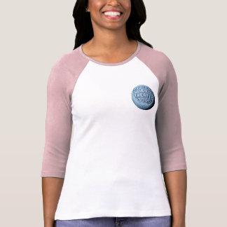 MST3K Moon Baseball T-Shirt (Pink)