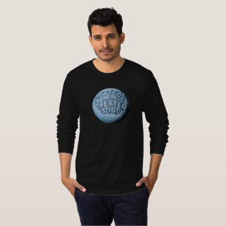 MST3K Moon Long Sleeve T-Shirt (Black)