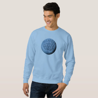 MST3K Moon Sweatshirt (Light Blue)
