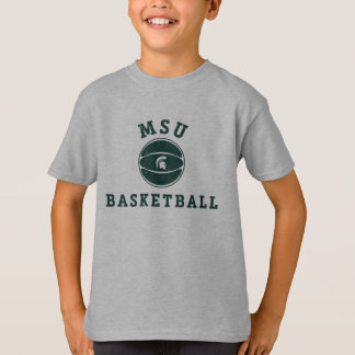 MSU Basketball | Michigan State University 3 T-Shirt