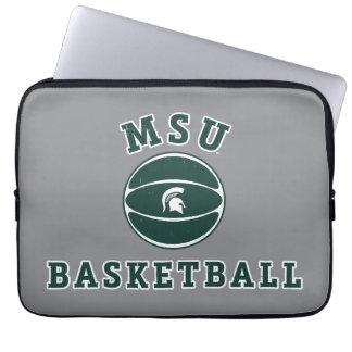 MSU Basketball | Michigan State University 4 Laptop Sleeves