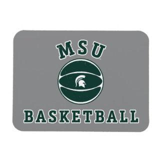 MSU Basketball | Michigan State University 4 Magnet