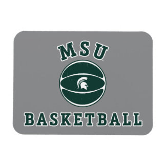 MSU Basketball | Michigan State University 4 Rectangular Photo Magnet