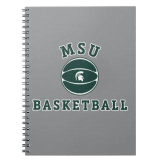 MSU Basketball | Michigan State University 4 Spiral Notebook