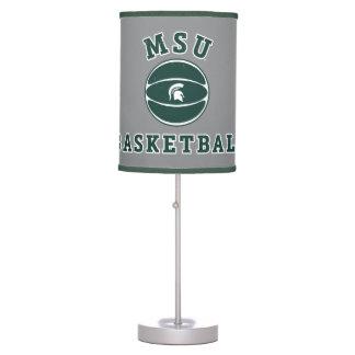 MSU Basketball | Michigan State University 4 Table Lamp