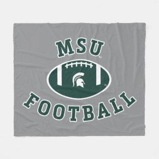 MSU Football | Michigan State University 4 Fleece Blanket