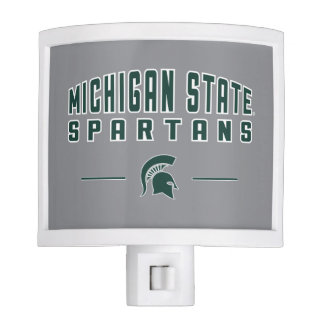MSU Pennant | Michigan State University 4 Night Lite