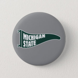 MSU Spartans | Michigan State University 4 2 Inch Round Button