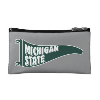 MSU Spartans | Michigan State University 4 Cosmetic Bag