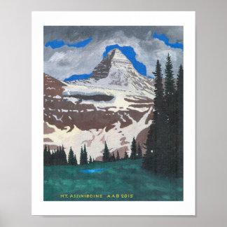 Mt. Assiniboine Poster