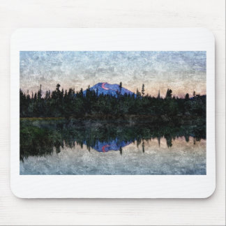 Mt Bachelor, Oregon, at Dawn Mouse Pad
