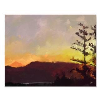 Mt. Baker au lever de soleil - 11x14 Kodak Photographe
