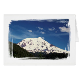 Mt. Baker North Cascade Mountains Washington Card