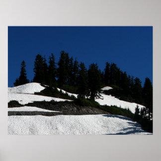 Mt Baker Summer Dusk Print
