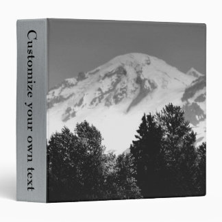Mt. Baker Through Trees Vinyl Binder