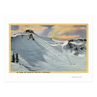 Mt. Baker, Washington - vue de ski de Baker de Mt. Carte Postale