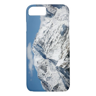 Mt. Blanc with clouds. iPhone 8/7 Case